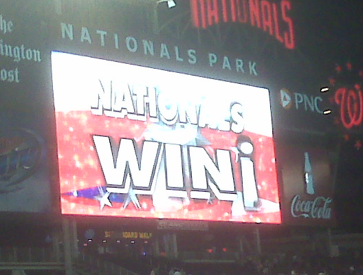 Nationals Win!